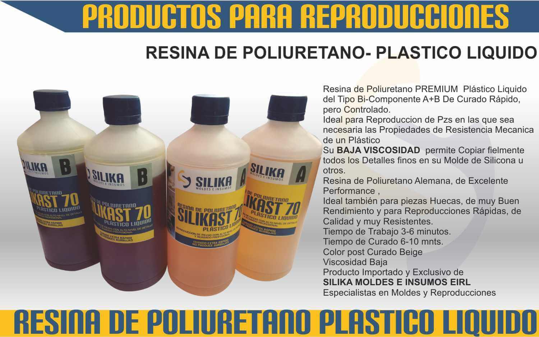 Resinas poliuretano plastico liquido silika moldes e insumos for Arcones de resina para exterior
